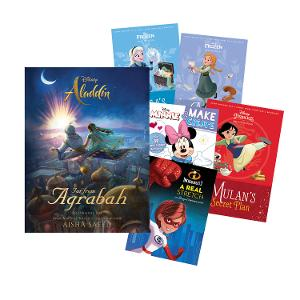 Disney Activity & Book Bundle - Girls (Age: 7-9yrs) product photo
