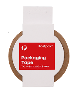Packaging Tape Brown (TA2) - 48mm x 50m - 10 pack product photo
