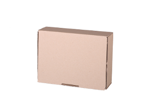 Plain Mailing Box (BXP1) - 220 x 160 x 77mm - 20 pack product photo