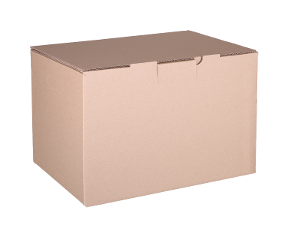 Plain Mailing Box (BXP5) - 405 x 300 x 255mm - 10 pack product photo