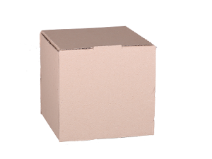 Plain Mailing Box (BXP18) - 180 x 180 x 180mm - 20 pack product photo