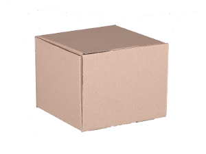 Plain Mailing Box (BXP22) -140 x 140 x 115mm - 20 pack product photo