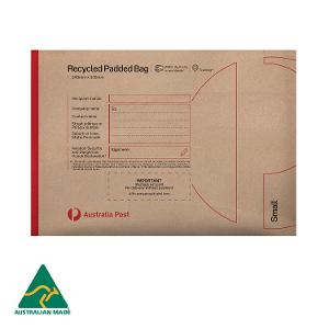 Recycled Padded Bag - Small - 236 x 329mm - 100 pack product photo