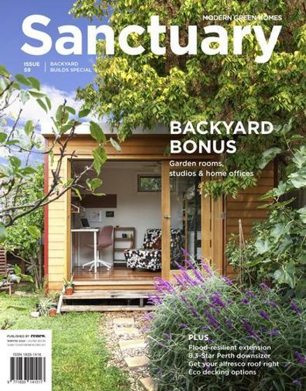 Sanctuary: Modern Green Homes Magazine - 12 Month Subscription product photo Internal 1 DETAILS