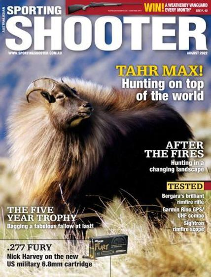 Sporting Shooter Magazine - 12 Month Subscription product photo Internal 1 DETAILS