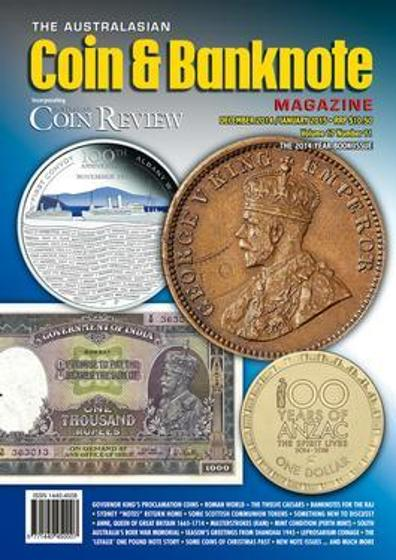 Australasian Coin & Banknote Magazine - 12 Month Subscription product photo Internal 1 DETAILS