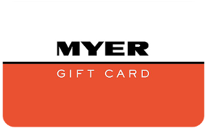 Myer Gift Card product photo