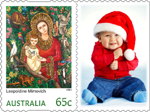 Christmas card rate – Religious product photo