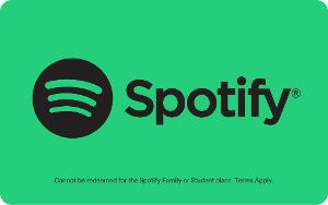 Spotify Gift Card product photo